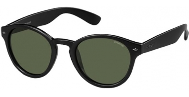 Gafas de Sol - Polaroid - PLD 1018/S - D28 (H8) SHINY BLACK // GREEN POLARIZED
