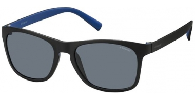 Gafas de Sol - Polaroid - PLD 3009/S - LLK (C3) BLACK BLUE // GREY POLARIZED