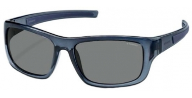Sunglasses - Polaroid Sport - PLD 3012/S - 29J (C3) DARK BLUE SOLID // GREY POLARIZED