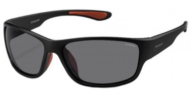 Sunglasses - Polaroid Sport - PLD 3015/S - DL5 (Y2) MATTE BLACK // GREY POLARIZED