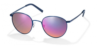 Gafas de Sol - Polaroid - PLD 6010/S - BHQ (OZ) BLUE MATTE // RED MIRROR POLARIZED