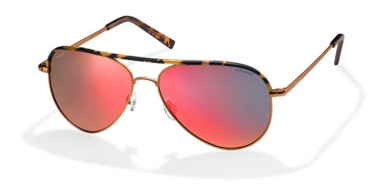 Sunglasses - Polaroid - PLD 6011/S - PKQ (OZ) ORANGE HAVANA // RED MIRROR POLARIZED