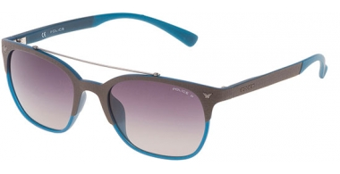 Sunglasses - Police - SPL161 GAME 5 - MB6P GREY BLUE // GREY GRADIENT POLARIZED