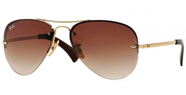 Gafas de Sol - Ray-Ban® - Ray-Ban® RB3449 - 001/13 ARISTA // BROWN GRADIENT
