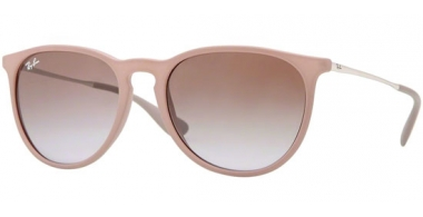 Gafas de Sol - Ray-Ban® - Ray-Ban® RB4171 ERIKA - 600068 DARK RUBBER SAND // BROWN GRADIENT