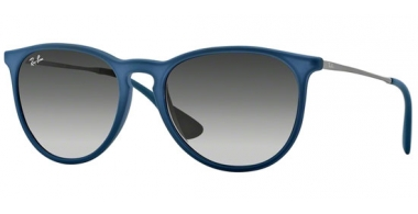 Gafas de Sol - Ray-Ban® - Ray-Ban® RB4171 ERIKA - 60028G RUBBER BLUE // GREY GRADIENT