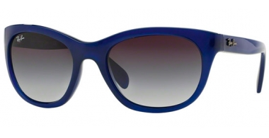 Gafas de Sol - Ray-Ban® - Ray-Ban® RB4216 - 60058G OPAL BLUE // GREY GRADIENT DARK GREY