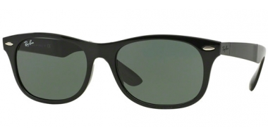 Gafas de Sol - Ray-Ban® - Ray-Ban® RB4223 FOLDING - 601/71 BLACK // GREEN