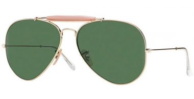 Gafas de Sol - Ray-Ban® - Ray-Ban® RB3029 OUTDOORSMAN II - L2112 ARISTA // CRYSTAL GREEN