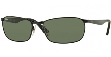 Gafas de Sol - Ray-Ban® - Ray-Ban® RB3534 ACTIVE LIFESTYLE - 002  BLACK // GREEN