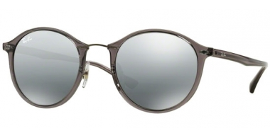 Gafas de Sol - Ray-Ban® - Ray-Ban® RB4242 ROUND II LIGHT RAY - 620088 GREY // GREY MIRROR SILVER GRADIENT