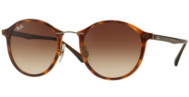 Gafas de Sol - Ray-Ban® - Ray-Ban® RB4242 ROUND II LIGHT RAY - 620113 LIGHT HAVANA // BROWN GRADIENT