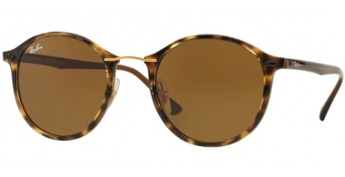 Gafas de Sol - Ray-Ban® - Ray-Ban® RB4242 ROUND II LIGHT RAY - 710/73 HAVANA // BROWN
