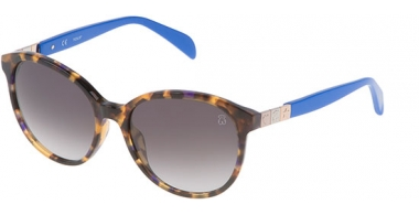 Sunglasses - Tous - STO901 - 0744 HAVANA BLUE // GREY GRADIENT