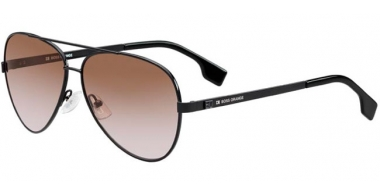 Sunglasses - Boss Orange - BO 0011/S - URE (QR) SHINY AUBERGINE // BROWN VIOLET GRADIENT