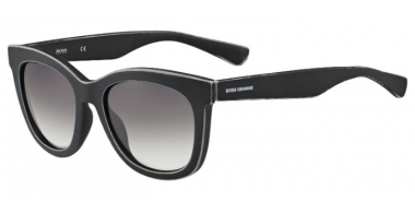Sunglasses - Boss Orange - BO 0199/S - 9DR (EU) BLACK LIGHT GREY // GREY GRADIENT
