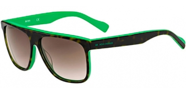 Gafas de Sol - Boss Orange - BO 0168/S - SPG (HA) HAVANA GREEN // BROWN GRADIENT