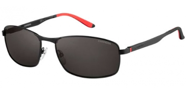 Gafas de Sol - Carrera - CARRERA 8012/S - 003 (M9) MATTE BLACK // GREY POLARIZED