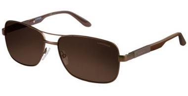 Gafas de Sol - Carrera - CARRERA 8020/S - TVL  (SP)  METAL BROWN // BRONZE POLARIZED