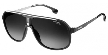 Sunglasses - Carrera - CARRERA 1007/S - 003 (9O) MATTE BLACK // DARK GREY GRADIENT