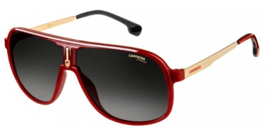 Sunglasses - Carrera - CARRERA 1007/S - C9A (9O) RED // DARK GREY GRADIENT
