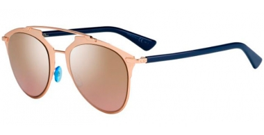 Sunglasses - Dior - DIORREFLECTED - 321 (0R) COPPER GOLD BLUE // GOLD MIRROR PINK