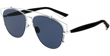 Sunglasses - Dior - DIORTECHNOLOGIC - PQX (A9) PALLADIUM BLACK // BLUE