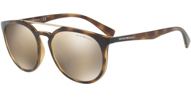 Gafas de Sol - Emporio Armani - EA4103 - 50265A HAVANA // LIGHT BROWN MIRROR GOLD