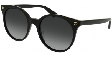 Gafas de Sol - Gucci - GG0091S - 001 BLACK // GREY GRADIENT