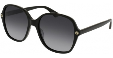 Gafas de Sol - Gucci - GG0092S - 001 BLACK // GREY GRADIENT
