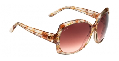 Sunglasses - Gucci - Ofertas especiales - GG 3581/S - WS1 (S2) CHAMPAGNE FLOWER // BROWN GRADIENT