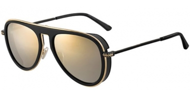 Gafas de Sol - Jimmy Choo - CARL/S - 807 (K1) BLACK // GOLD MIRROR