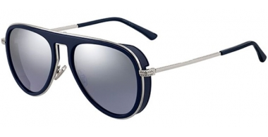 Gafas de Sol - Jimmy Choo - CARL/S - PJP (96) BLUE // LIGHT GREY SILVER MIRROR
