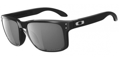 Gafas de Sol - Oakley - HOLBROOK OO9102 - 9102-02 POLISHED BLACK // GREY POLARIZED