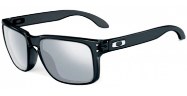 Gafas de Sol - Oakley - HOLBROOK OO9102 - 9102-68 BLACK INK // CHROME IRIDIUM POLARIZED