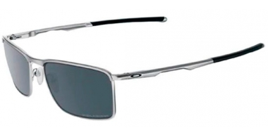 Gafas de Sol - Oakley - CONDUCTOR 6 OO4106 - 4106-02 LEAD // BLACK IRIDIUM POLARIZED
