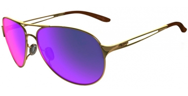 Gafas de Sol - Oakley - CAVEAT OO4054 - 4054-14 POLISHED GOLD // POSITIVE RED IRIDIUM