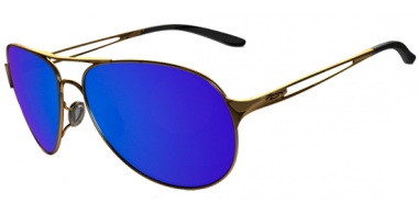 Gafas de Sol - Oakley - CAVEAT OO4054 - 4054-16 POLISHED GOLD // ICE IRIDIUM