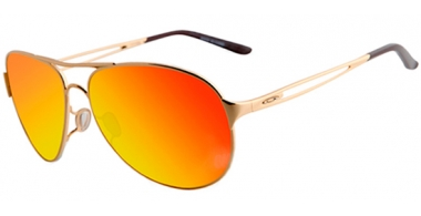 Gafas de Sol - Oakley - CAVEAT OO4054 - 4054-17 POLISHED GOLD // FIRE IRIDIUM