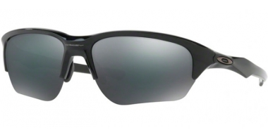 Lunettes de soleil - Oakley - FLAK BETA OO9363 - 9363-02 POLISHED BLACK // BLACK IRIDIUM