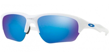 Gafas de Sol - Oakley - FLAK BETA OO9363 - 9363-03 POLISHED WHITE // SAPPHIRE IRIDIUM