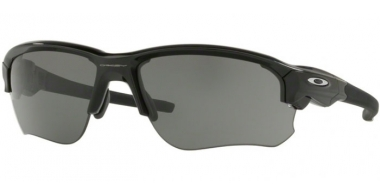 Sunglasses - Oakley - FLAK DRAFT OO9364 - 9364-01 POLISHED BLACK // GREY