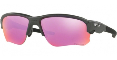 Sunglasses - Oakley - FLAK DRAFT OO9364 - 9364-04 STEEL // PRIZM GOLF