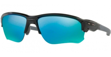 Sunglasses - Oakley - FLAK DRAFT OO9364 - 9364-06 POLISHED BLACK // PRIZM DEEP H2O POLARIZED
