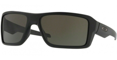 Sunglasses - Oakley - DOUBLE EDGE OO9380 - 9380-01 MATTE BLACK // DARK GREY