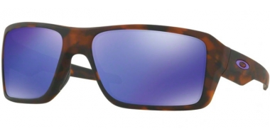 Sunglasses - Oakley - DOUBLE EDGE OO9380 - 9380-04 MATTE BLACK TORTOISE // VIOLET IRIDIUM