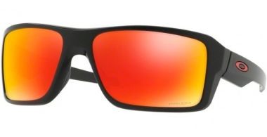 Sunglasses - Oakley - DOUBLE EDGE OO9380 - 9380-05 MATTE BLACK // PRIZM RUBY POLARIZED