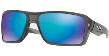 Sunglasses - Oakley - DOUBLE EDGE OO9380 - 9380-06 GREY SMOKE // PRIZM SAPPHIRE POLARIZED