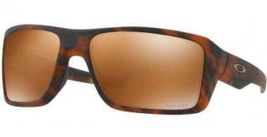 Sunglasses - Oakley - DOUBLE EDGE OO9380 - 9380-07 MATTE TORTOISE // PRIZM TUNGSTEN POLARIZED
