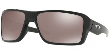 Sunglasses - Oakley - DOUBLE EDGE OO9380 - 9380-08 POLISHED BLACK // PRIZM BLACK POLARIZED